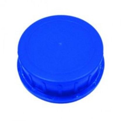 """Slika za čep na navoj """"tamper-evident"""" gl80 tip b plavi za bocu 1500ml-4000ml"""