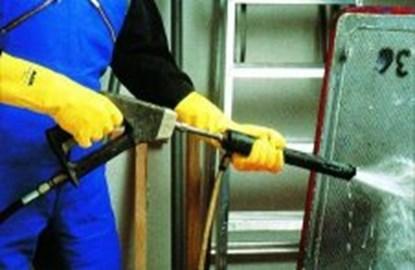 Slika za rukavice za zaštitu od kiselina i sredstava za čišćenje lateks 7-7 1/2 vel 1par