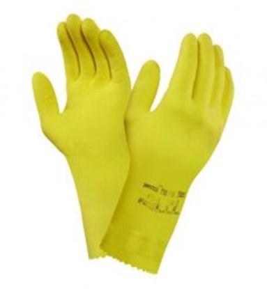 Slika za rukavice za kemijsku zaštitu lateks 7,5/8 vel žute 305mm universal plus 1par