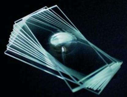 Slika za microscope slides 76x26mm with 2 cavity