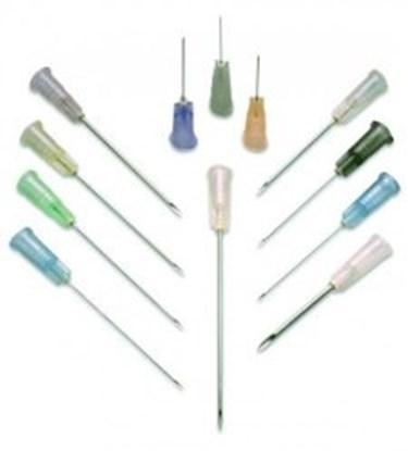 Slika za igle za špricu ss/pp smeđa 0,45x25mm sterilne pojedinačno pakirane pk/100