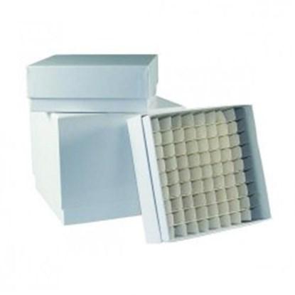 Slika za kriokutija 133x133x75mm kartonska plastificirana zelena bez razdjelnika
