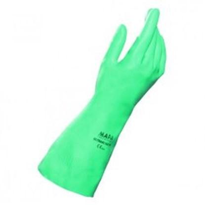Slika za rukavice za kemijsku zaštitu nitril l 9 vel zelene 320mm 1par