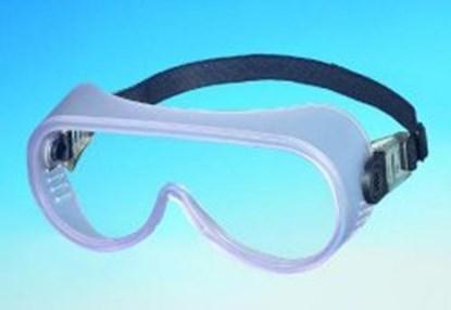 Slika za naočale zaštitne leće panoramske/okvir guma podesiva