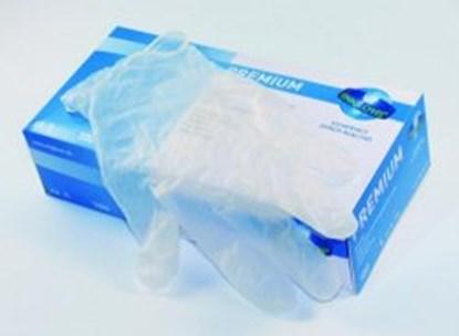 Slika za rukavice vinil bez pudera l 8-9 vel unigloves premium pk/100