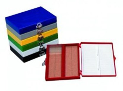 Slika za Durable microscope slide boxes