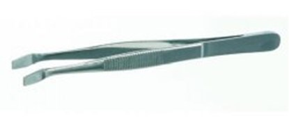 Slika za pinceta za pokrovna stakalca 105mm zakrivljena