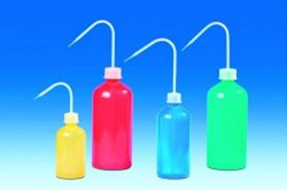 Slika za Coloured wash-bottles, narrow-neck, PE- LD/PP