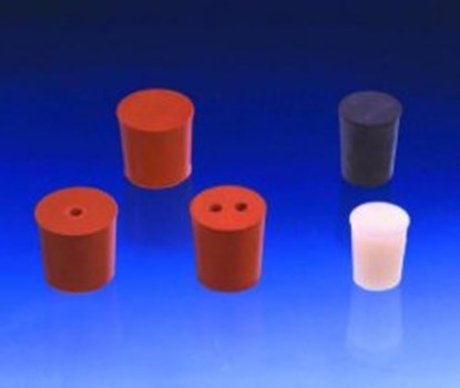 Slika za rubber stoppers red 13mmfi base diam