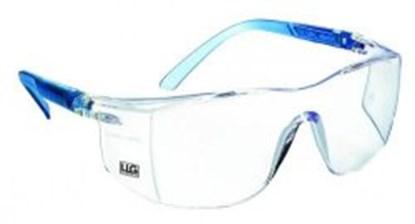 Slika za naočale zaštitne leće bistre/okvir svijetloplavi