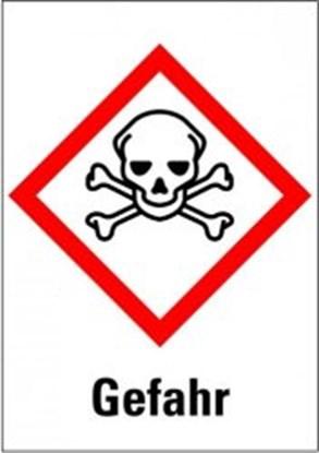 "Slika za hazardous material symbols""danger: acute"