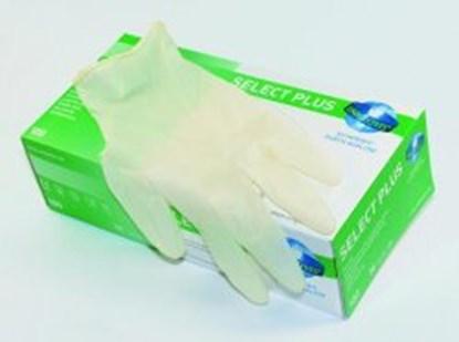 Slika za rukavice lateks bez pudera xs 5-6 vel bijele pk/100