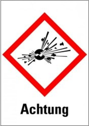 "Slika za hazardous material symboly ""warning of e"