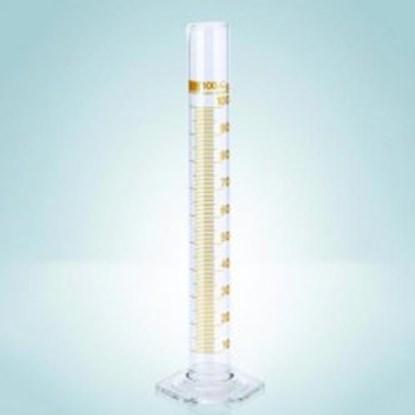Slika za menzura staklo visoka 100ml graduirana smeđim klasa b