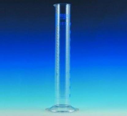 Slika za menzura staklo visoka 10ml graduirana plavim klasa a