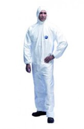 Slika za Disposable Chemical Protection Coverall Tyvek<SUP>®</SUP> 500 Xpert, Type 5/6