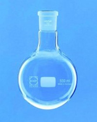 Slika za tikvica okrugla staklo 500ml nb29/32