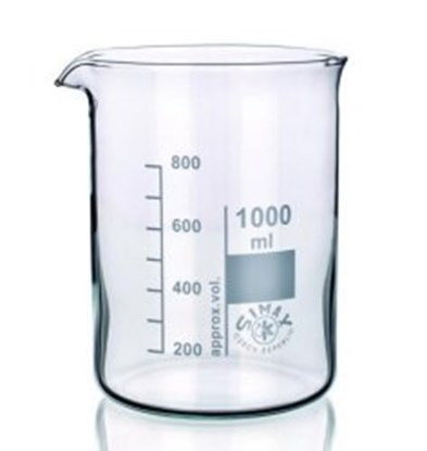 Slika za beakers 150 ml, low form, boro 3.3