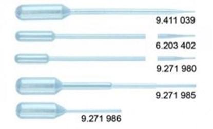 Slika za pipete pasteur pe 1,5ml 230mm pk/400