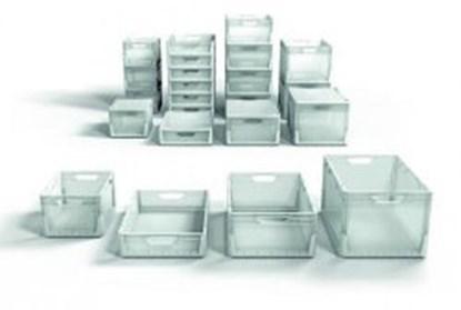 Slika za kutija za nošenje pp 46l 600x400x220mm s rupama za ruke