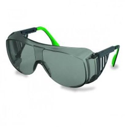 Slika za naočale zaštitne leće pc zelene/okvir zeleni