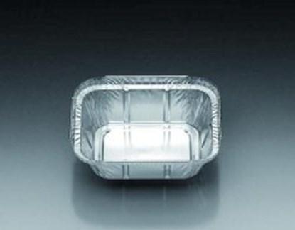 Slika za posuda aluminijska 500ml četvrtasta 127x191x29mm pk/60