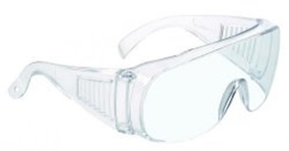 Slika za naočale zaštitne leće bistre/okvir proziran pk/10