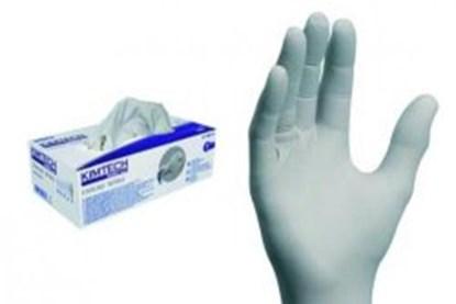 Slika za rukavice nitril bez pudera xs 5-6 vel bijele pk/150
