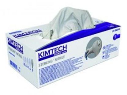 Slika za rukavice nitril bez pudera s 6-7 vel bijele pk/150 kimtech