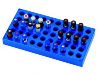 Slika za stalak pp plavi za viale od 4mlx50