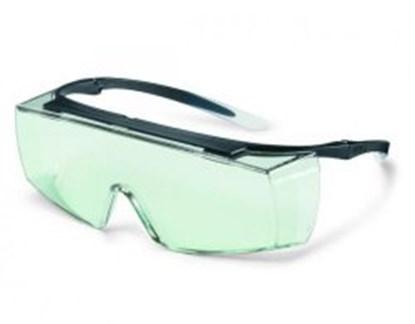 Slika za naočale zaštitne uvex super f otg 9169 leće pc bistr/okvir crni uv 2-1.2 optidur