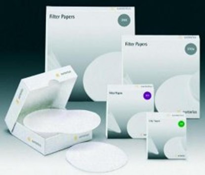 Slika za filter papir crna vrpca fi110mm brza filtracija pk/100