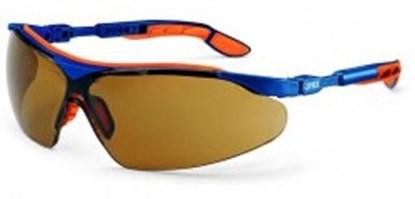 Slika za naočale zaštitne leće ultrabistre smeđe/okvir plavo-narančasti