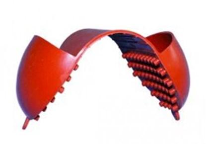 Slika za guma zaštitna za hvatanje vrućih i hladnih predmeta crvena