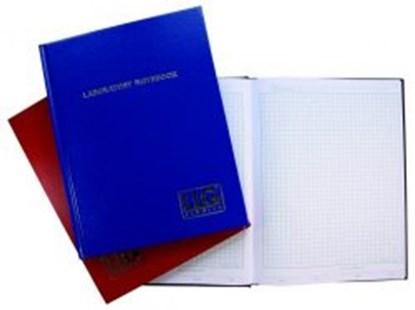 Slika za lab dnevnik s kockicama 100 strana crni vodootporne i kemijski otporne korice