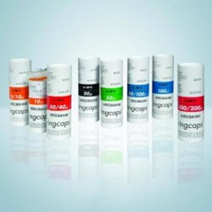 Slika za ringcaps, disposable capillary pipettes 20ul pk/250