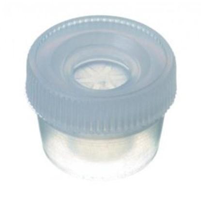 Slika za čepovi utisni za shell viale 4ml pe bijeli nd15 pk/1000