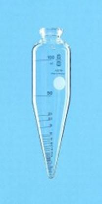 Slika za ASTM centrifuge tube, cylindrical, with conical base, borosilicate glass 3.3