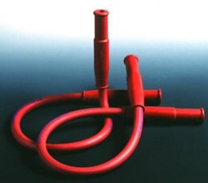 Slika za crijevo za plamenik dva ulaza 600 mm, smeđe