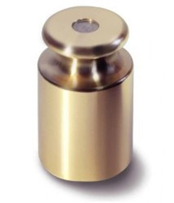 Slika za uteg kalibracijski  m1,brass, 500 g