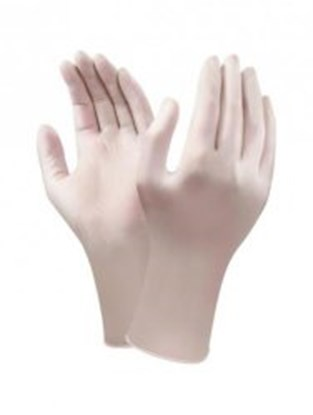 Slika za rukavice nitril bez pudera xl 9-10 vel bijele 305mm pk/100