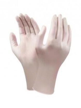 Slika za rukavice nitril bez pudera m 7-8 vel bijele 305mm pk/100