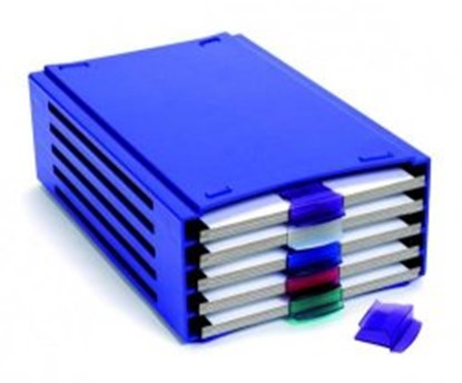 Slika za 20-Place Slide Tray Rack, ABS