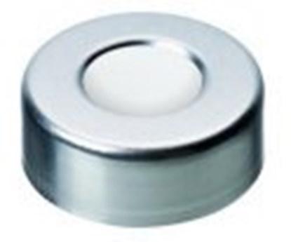 Slika za čepovi za viale krimp nd20 al srebrni rupa+silikon bijeli/ptfe bež pk/100