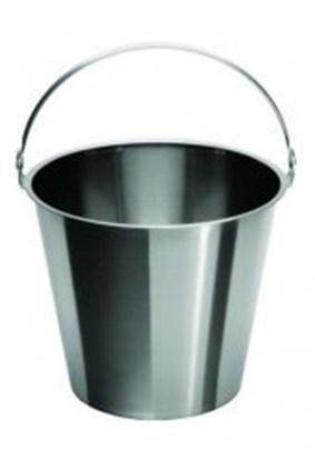 Slika za buckets,st.steel,graduated,with handle,c