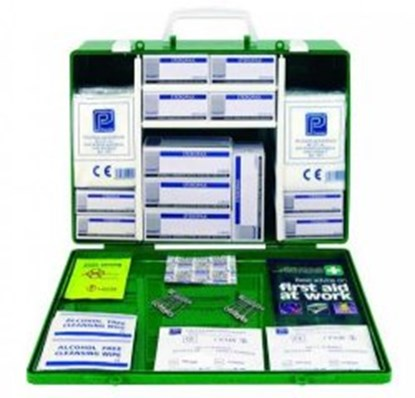 Slika za first aid box green, abs with lid