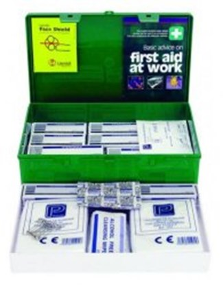 Slika za first aid box green, abs/lid/wall