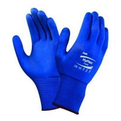 Slika za rukavice zaštitne nitril 6 vel plave 200-248mm hyflexr pk/12pari