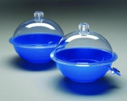 Slika za eksikator pp plavi fi250mm s poklopcem pc bez pipca