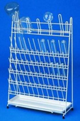 Slika za stalak ss žica/pe za sušenje epruveta/24-mjesta i tikvica/20-mjesta
